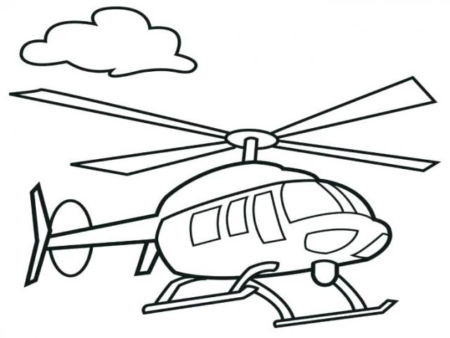 Helicopter Drawing Images.
