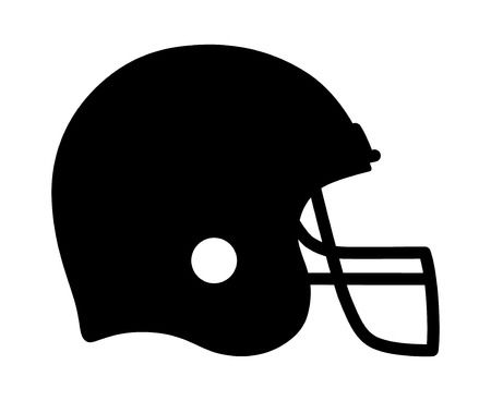 Football helmet clipart black and white 2 » Clipart Station.