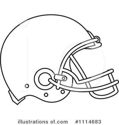 Football Helmet Clipart Black And White.