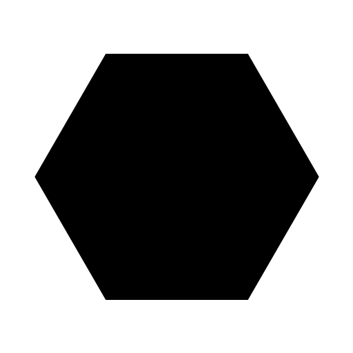 Free Hexagon Clipart Black And White, Download Free Clip Art.