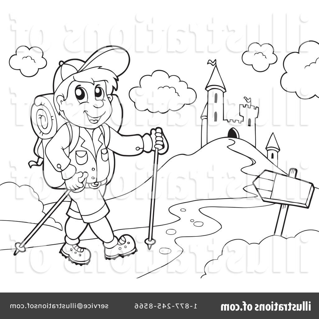 Unique Hiking Clip Art Black And White Pictures » Free.
