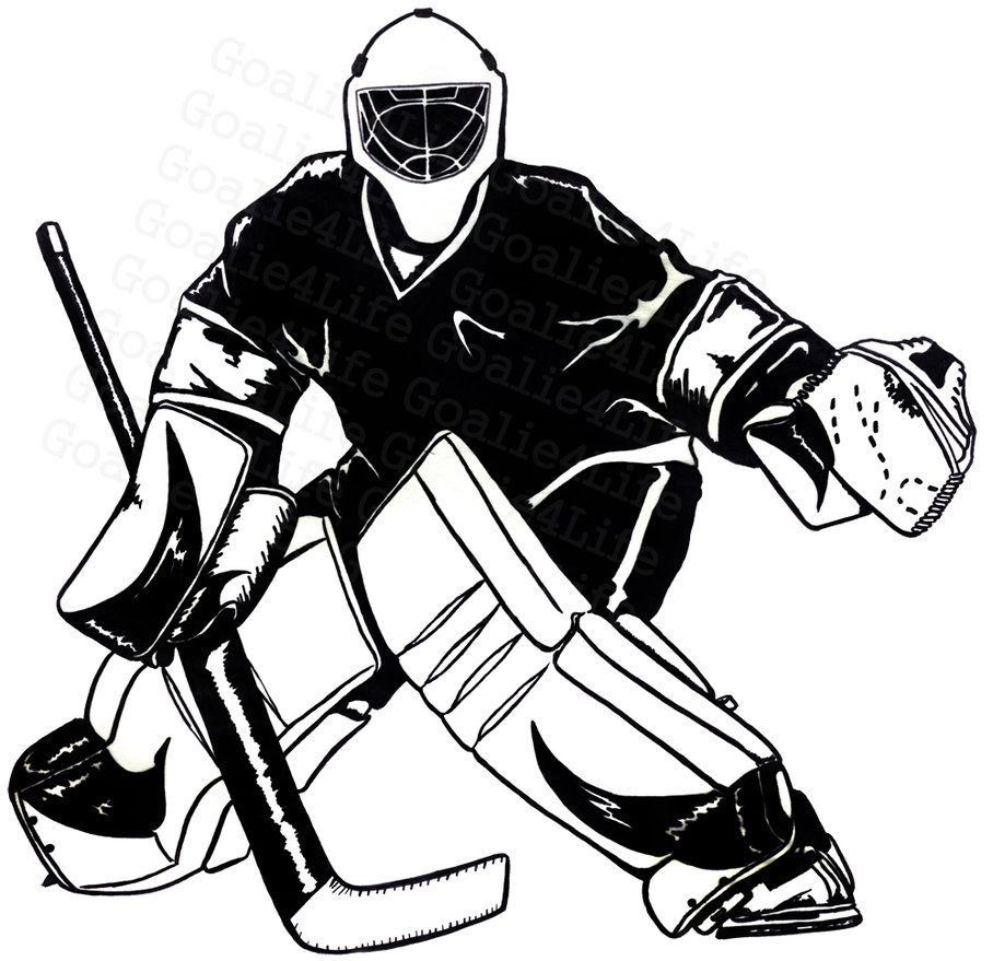 free hockey images clipart.