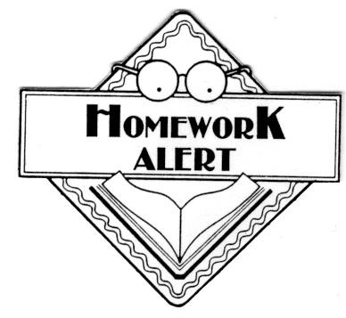 Homework Free Clipart.