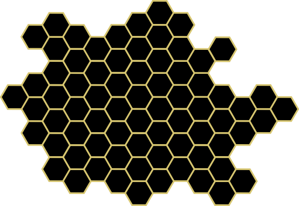 Free Honeycomb Clipart Black And White, Download Free Clip.
