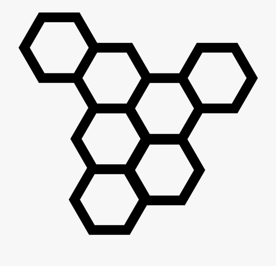 Honeycomb Clipart Black And White.