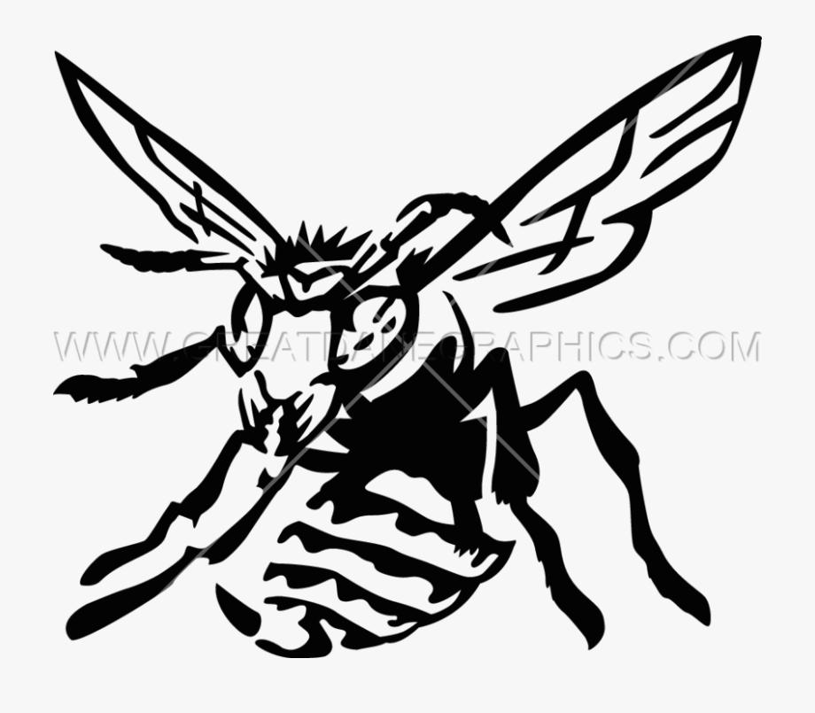 Hornet Clipart Black And White.