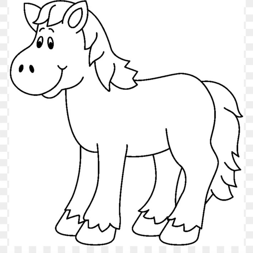 Black And White Horse Clipart (96+ images in Collection) Page 1.
