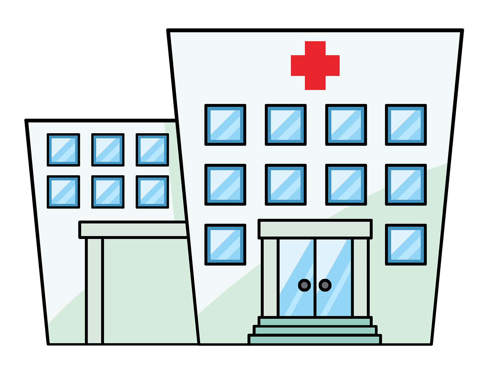 Free Hospital Clipart Black And White, Download Free Clip.