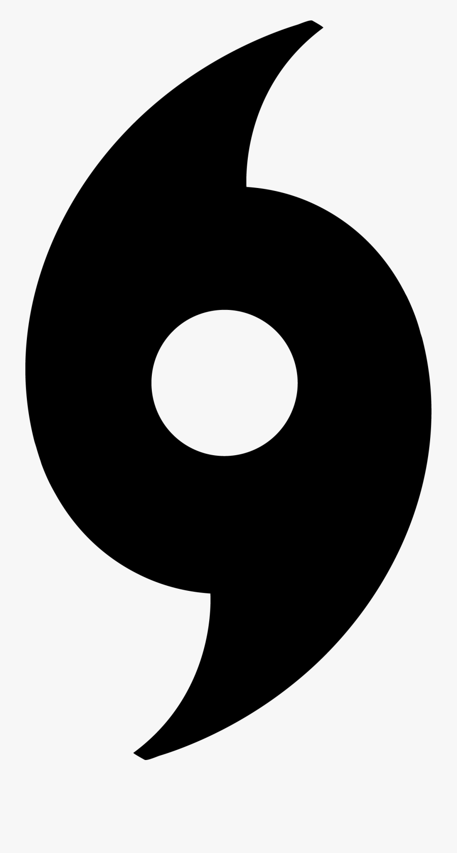 Transparent Hurricane Symbol Png Black , Free Transparent.
