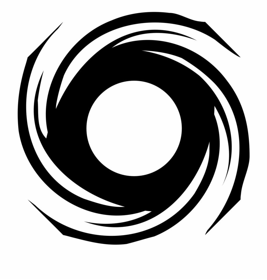 Hurricane Clipart Black And White Clip Art.