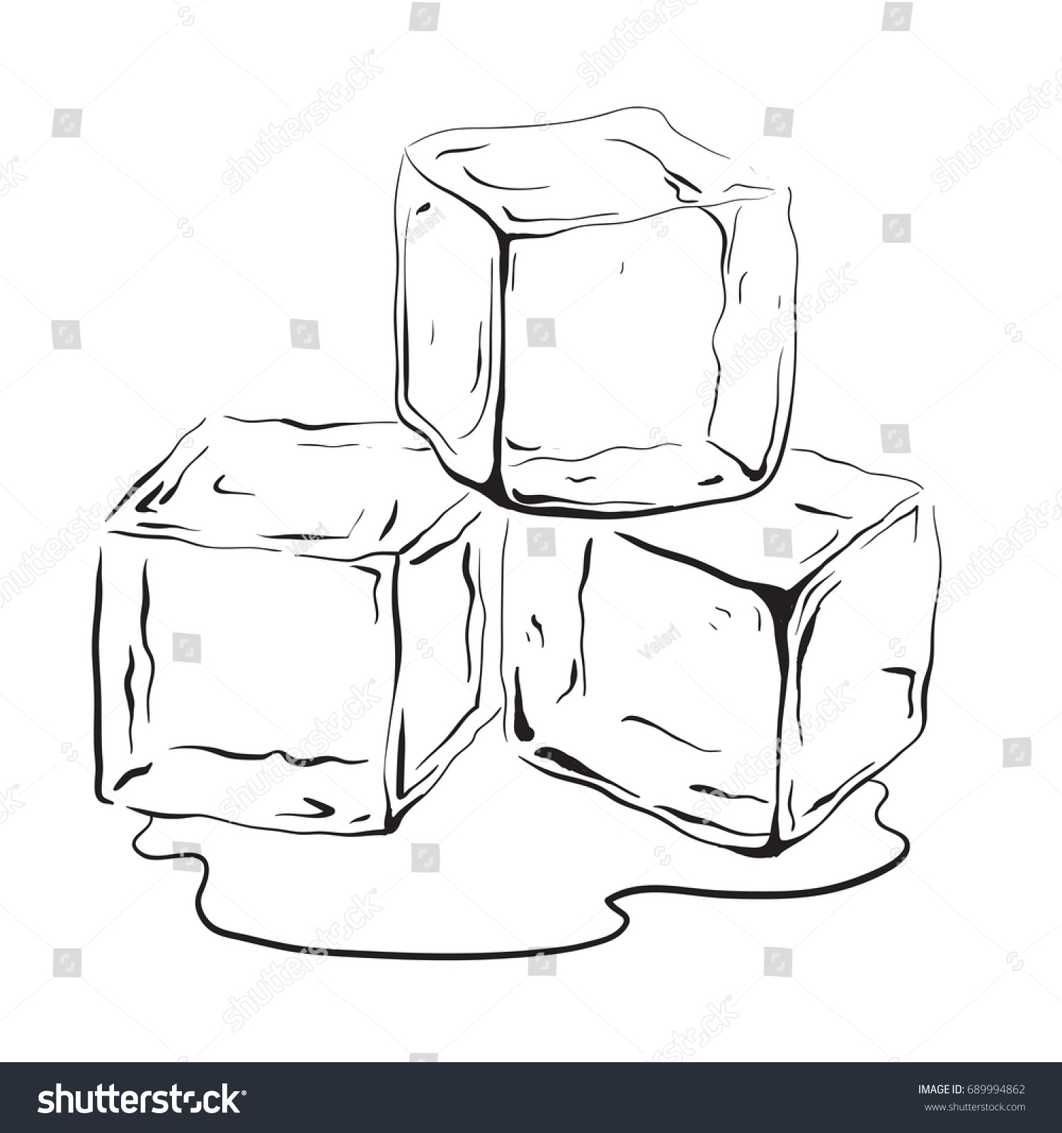 Ice PNG Black And White Transparent Ice Black And White.PNG Images.