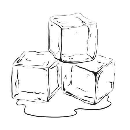 Ice cube clipart black and white 3 » Clipart Station.