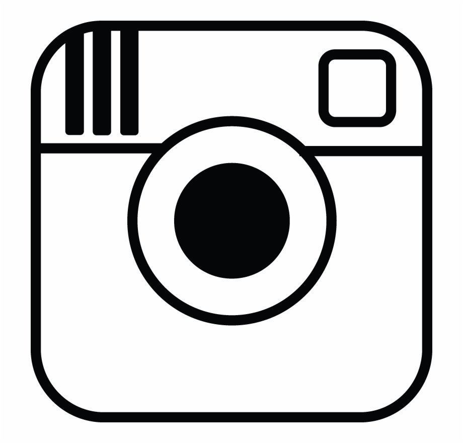 Instagram Logo Png Transparent Background Black And White.