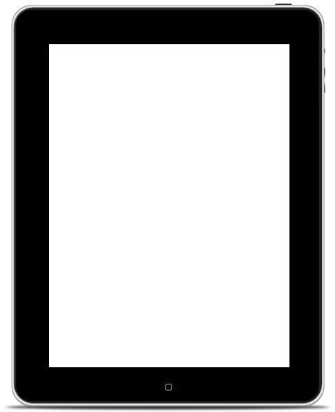 Apple Ipad Clipart Black And White.