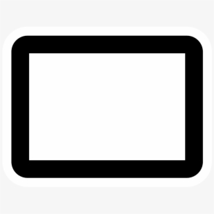 Rectangle Clipart Black And White.