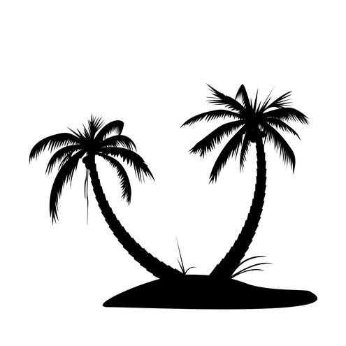 Island Clip Art Black And White.