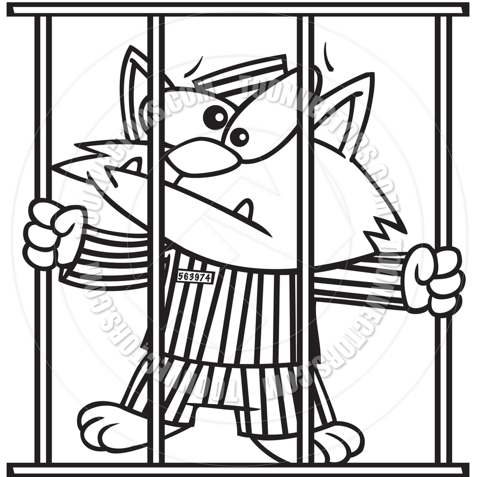Jail clipart black and white 3 » Clipart Station.