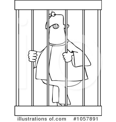 Prisoner Clipart #1057891.