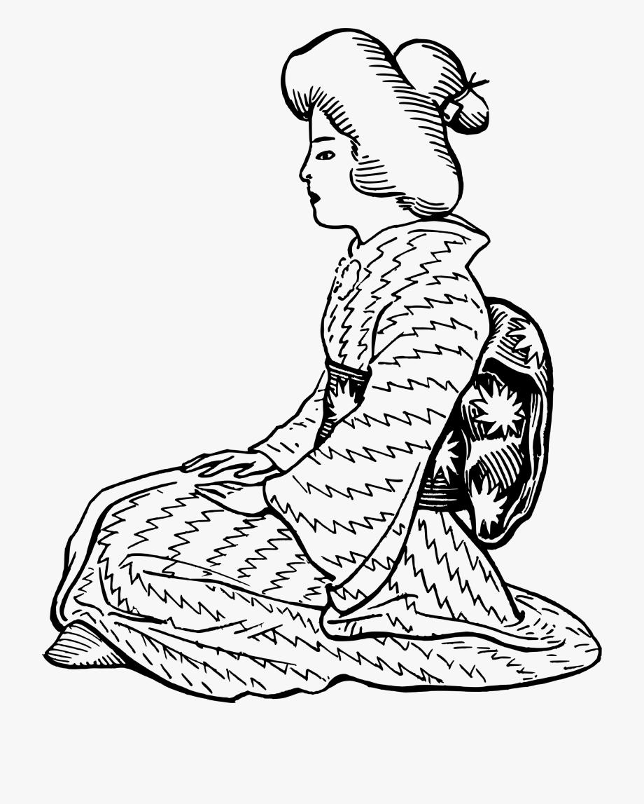 Japanese Clipart Clothes Japan.