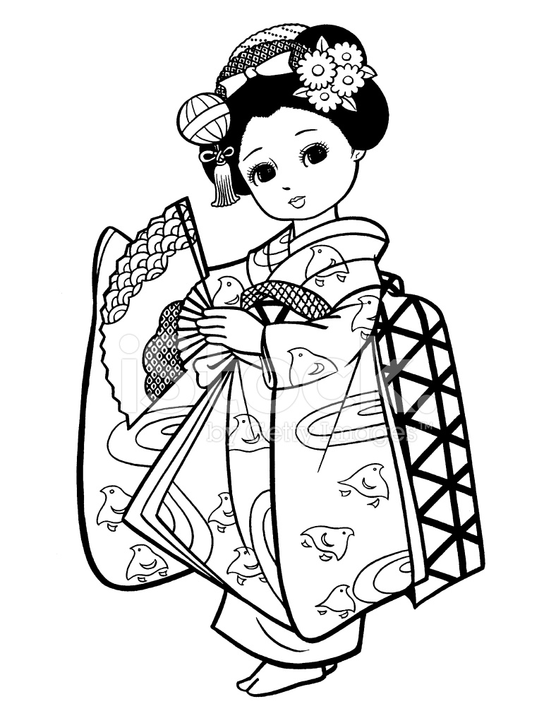 Japanese clipart black and white, Japanese black and white.