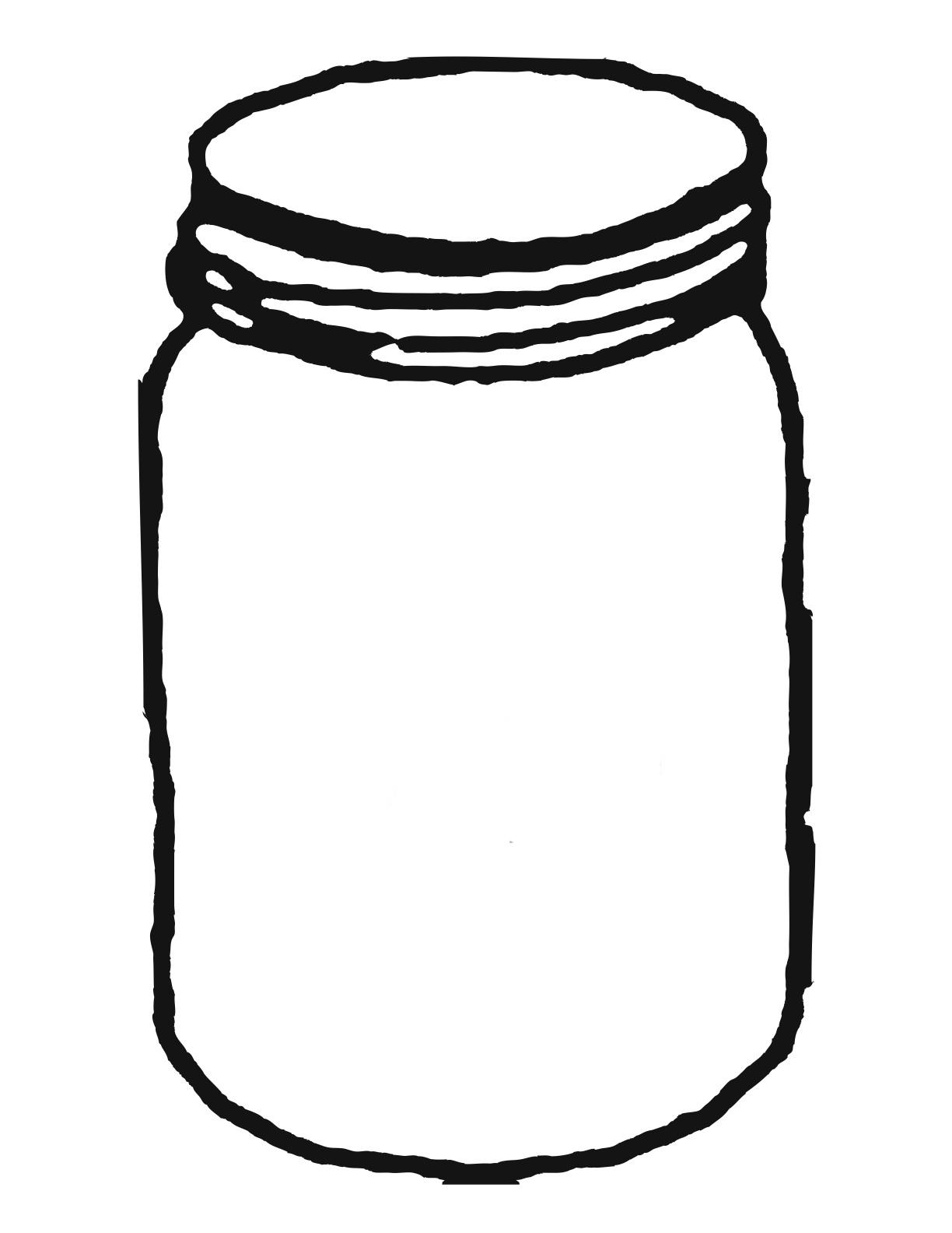 Free Jar Clip Art Black And White, Download Free Clip Art.