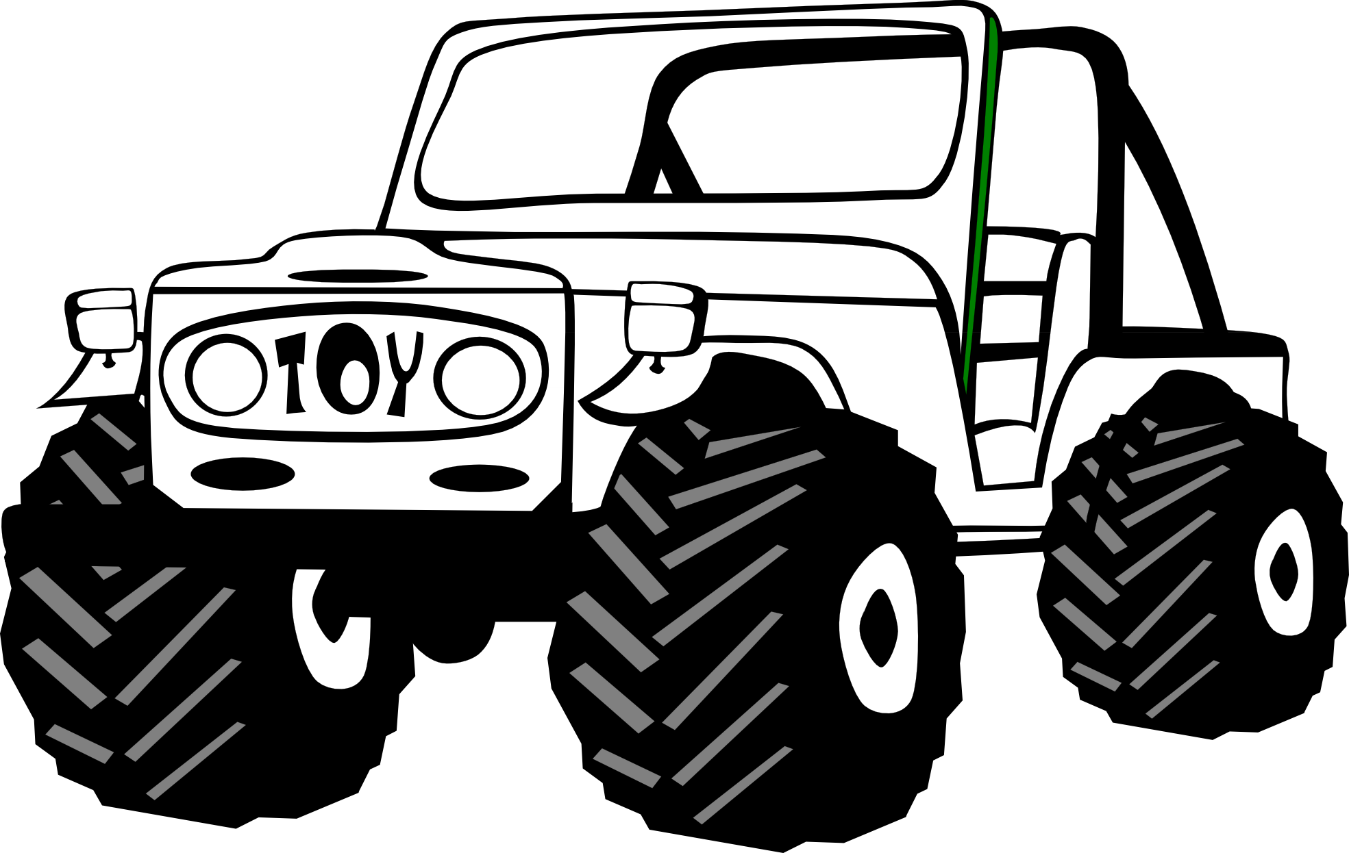 Jeep PNG Black And White Transparent Jeep Black And White.