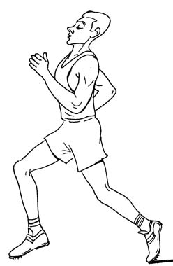 Jogging clipart black and white 5 » Clipart Station.