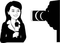 Search Results for reporter microphone.
