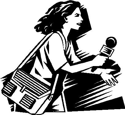 Journalist Pen Clipart.
