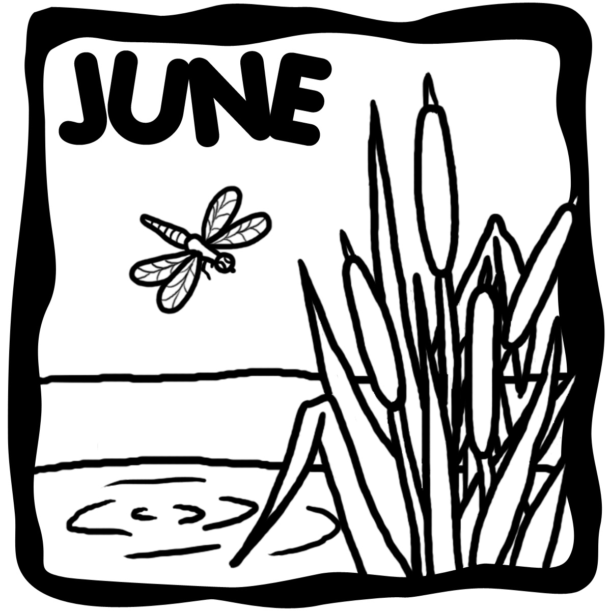 Free June Clipart Black And White, Download Free Clip Art.