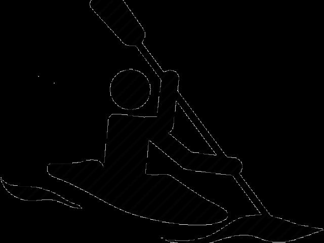 Kayak Clip Art Black And Art , Transparent Cartoon.
