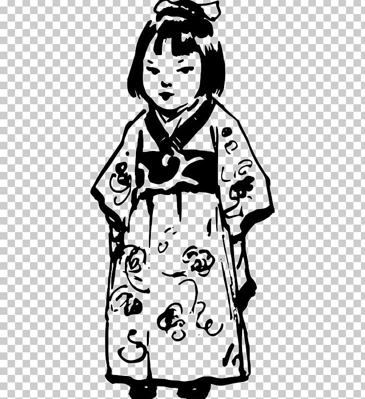 Girl In A White Kimono PNG, Clipart, Arm, Art, Artwork.