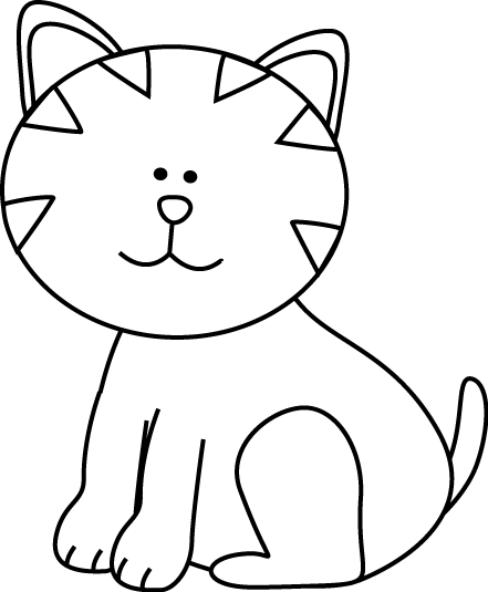 B&W Cat Free / Downloadable.
