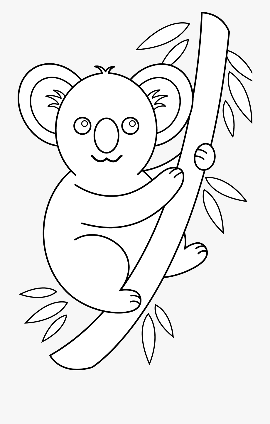 Koala Outline.