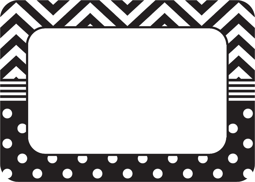 Label Clipart Black And White.
