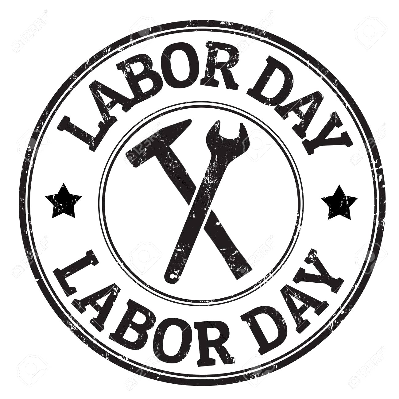 Labor day clipart black and white 6 » Clipart Station.