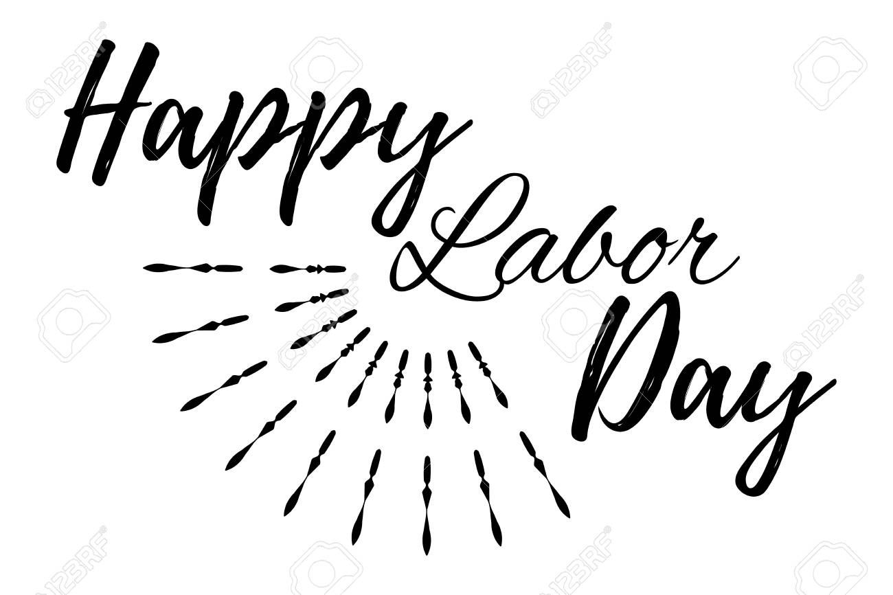 Happy Labor Day Banner And Giftcard. Labor #368325.
