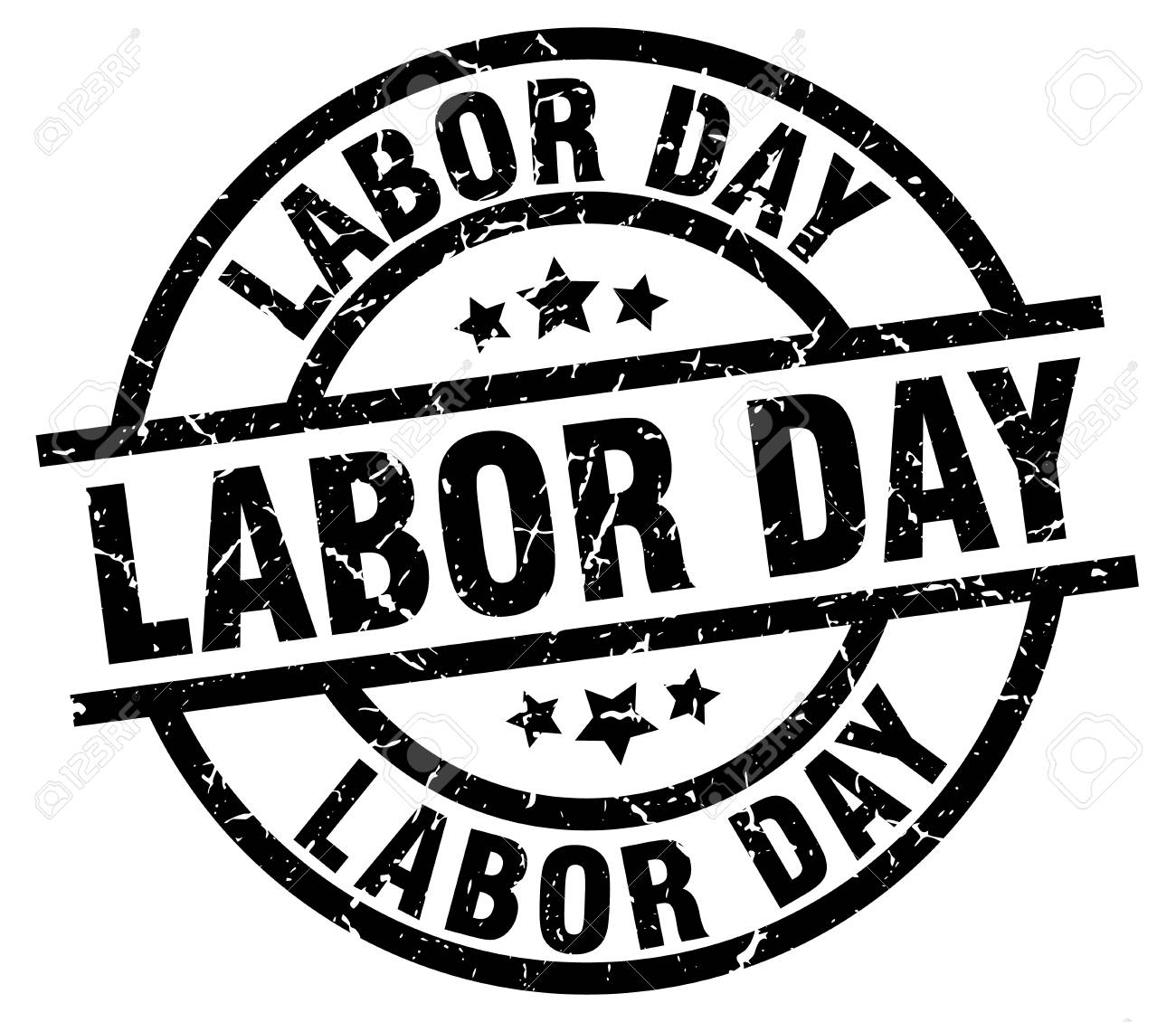 Free Labor Day Black And White Clipart & Free Clip Art Images #24565.