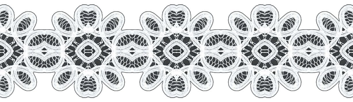 Lace Clipart Black And White.