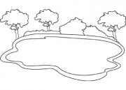 Lake clipart black and white 5 » Clipart Station.