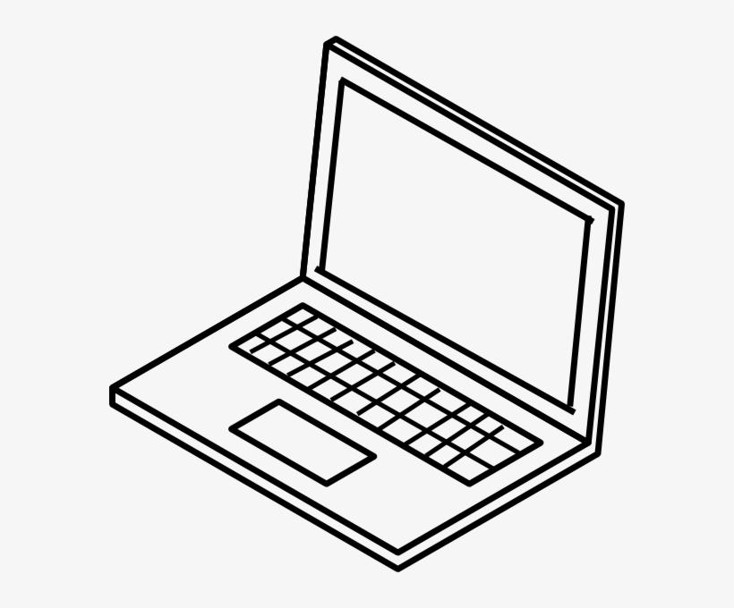 Laptop Clip Art At Clker Com Vector.