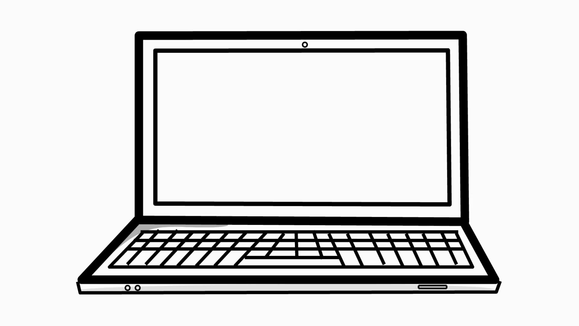 3320 Laptop free clipart.