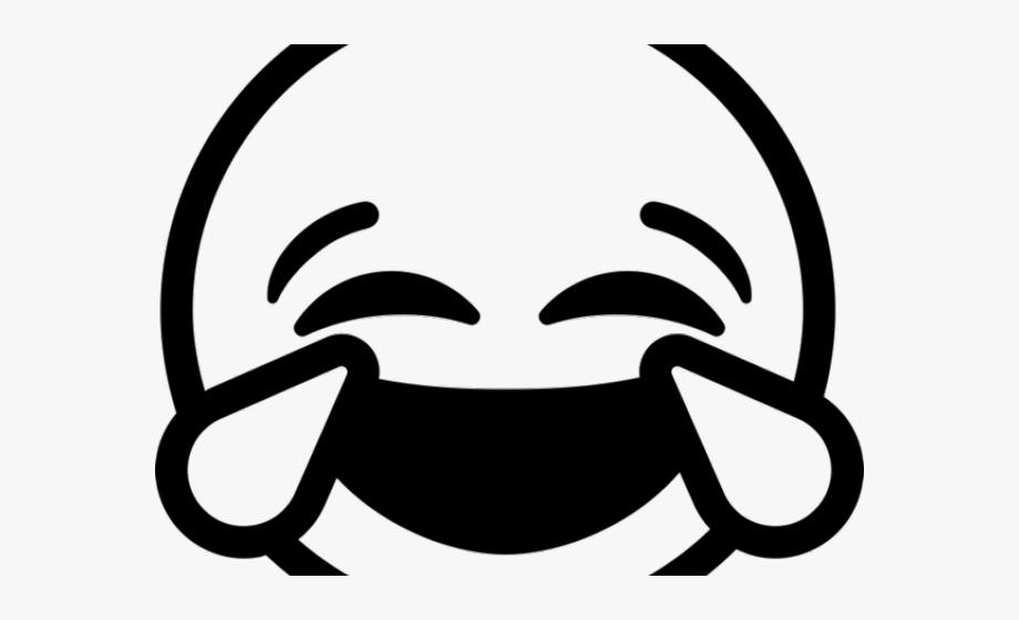 Emoji Clipart Black And White.