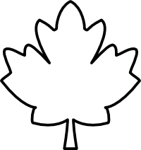 Maple Leaf Black And White Clipart Panda Free Clipart Images.