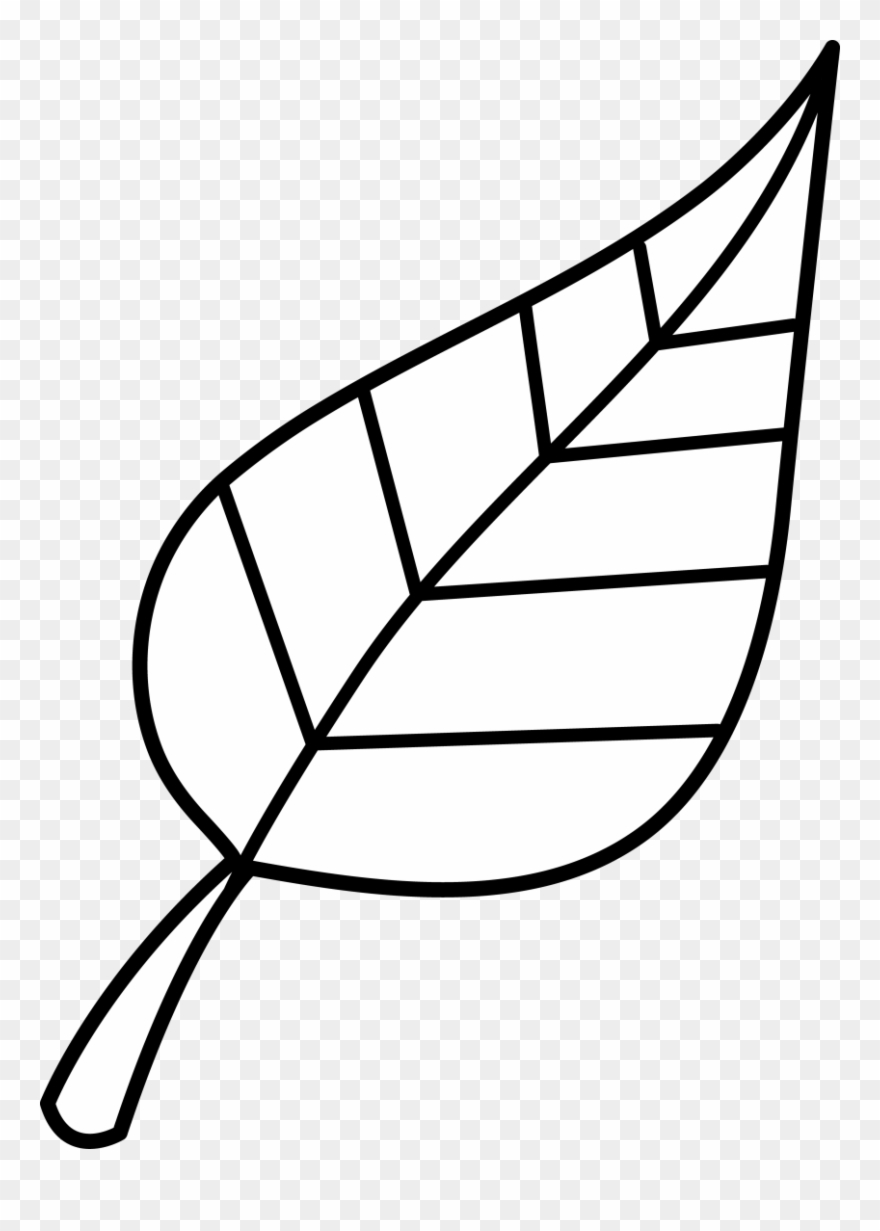 Leaf Fall Leaves Clip Art Black And White Clipartion.