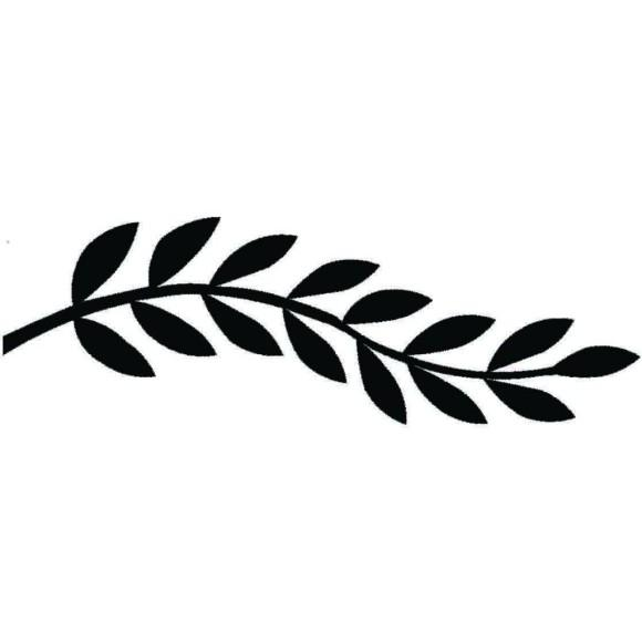 Leaf Clipart Black And White.