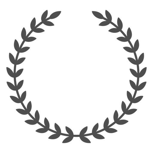 PNG Wreath Black And White Transparent Wreath Black And White.PNG.