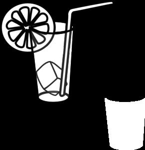 Lemonade Clipart Black And White.