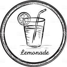 Image result for free lemonade clip art black and white.