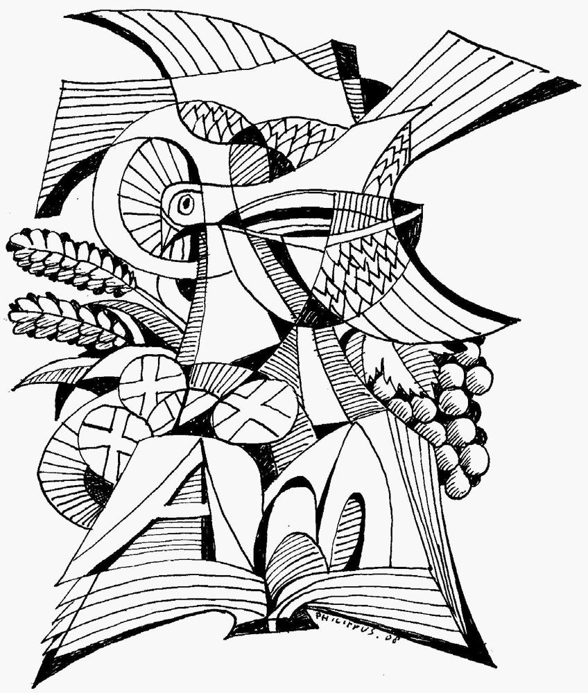 Lent Clipart Black And White.